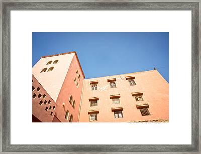 Moroccan Buildings Framed Print by Tom Gowanlock