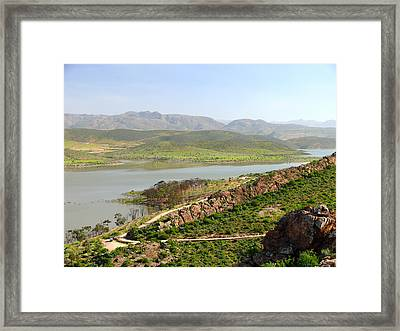 Moroccan Countryside 1 Framed Print