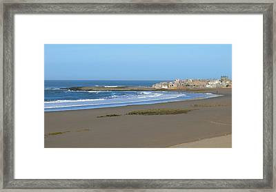 Moroccan Fishing Village Framed Print