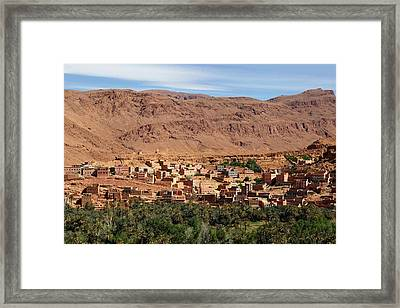 Moroccan Village Framed Print