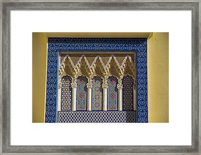 Morocco, Fes Medina Framed Print by Emily Wilson