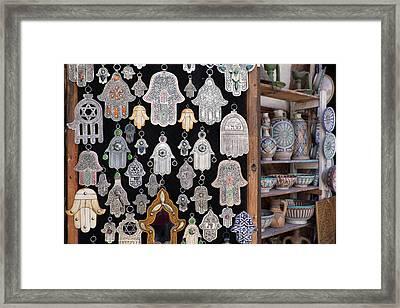 Morocco, Fez, Medina, Display Framed Print by Emily Wilson