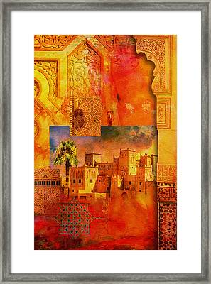 Morocco Heritage Poster 00 Framed Print by Catf