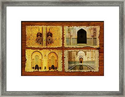 Morocco Heritage Poster 01 Framed Print by Catf