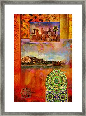 Morocco Heritage Poster Framed Print by Catf