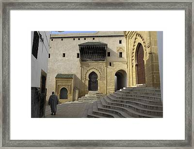 Morocco. Sal�. Great Mosque Framed Print by Everett