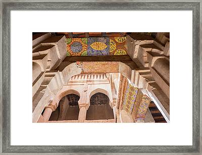 Morocco, South Of Morocco, Tuareg Wall Framed Print by Emily Wilson
