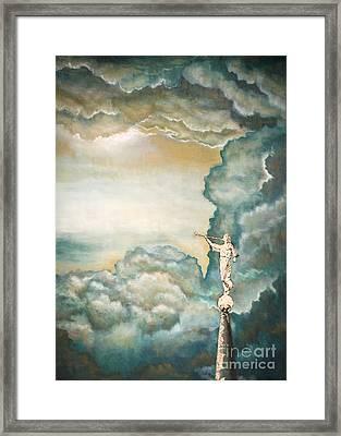 Moroni Framed Print by Debi Lee Hadley