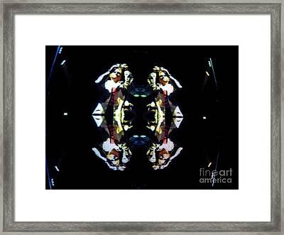 Morph Of Me Framed Print by Marian Bell