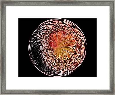 Morphed Art Globe 42 Framed Print