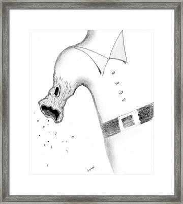 Morphing Framed Print by Dan Twyman