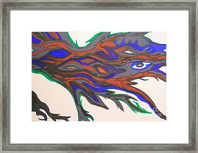 Morphology Framed Print by Mary Mikawoz