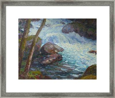 Morraine Ck. Fiordland Nz. Framed Print by Terry Perham