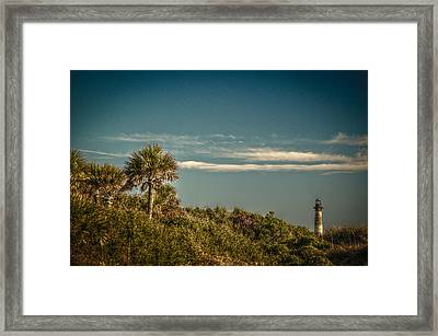 Morris Island Light Charleston Sc Framed Print