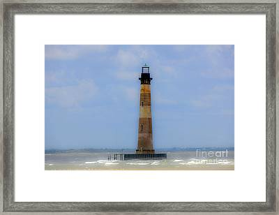 Sand Sea And Whimsey Framed Print by Dale Powell