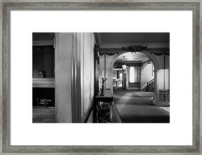 Framed Print featuring the photograph Morris Jumel Mansion by Dave Beckerman