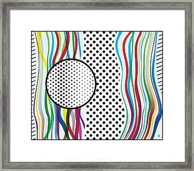 Morris Like Pop Art Framed Print