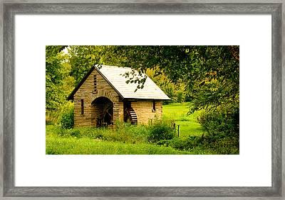 Morris Pumphouse Framed Print