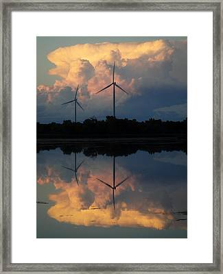Morris Turbines Framed Print