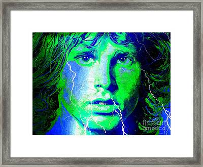 Morrison Storm Framed Print by Daniel Janda