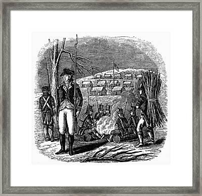 Morristown: Encampment Framed Print by Granger