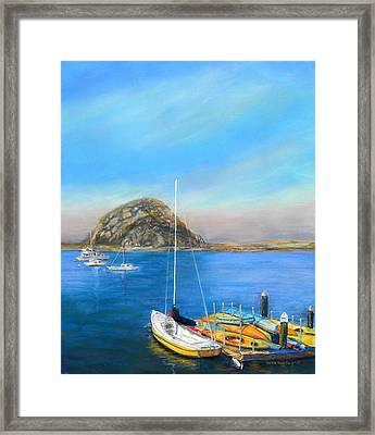 Morro Bay California Framed Print