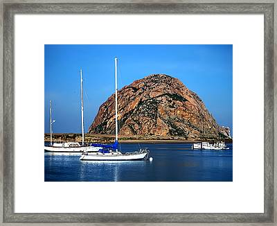 Morro Bay Framed Print by Camille Lopez