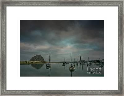 Morro Bay Framed Print by Mitch Shindelbower
