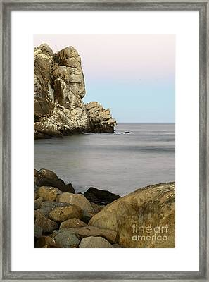 Morro Bay Morning 2 Framed Print by Terry Garvin