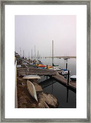 Morro Bay Ready To Sleep Framed Print