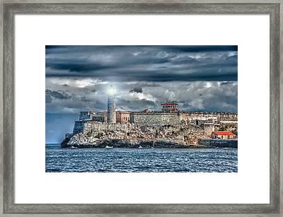 Morro Castel Framed Print