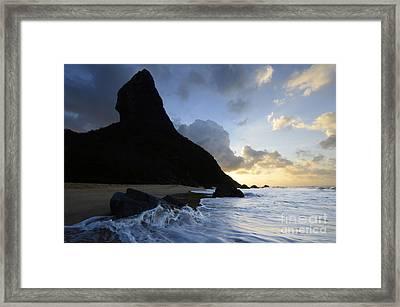 Morro Do Pico Brazil Evening Light Framed Print