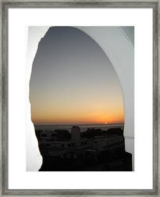 Morrocan Night Sky Framed Print by Martin Masterson