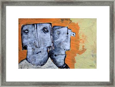 Mortalis No. 17 Framed Print by Mark M  Mellon