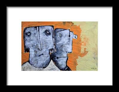 Outsider Framed Prints
