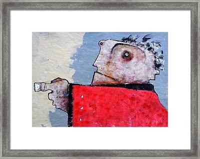 Mortalis No 6 Framed Print by Mark M  Mellon