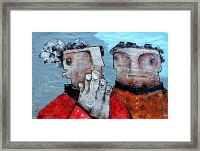 Mortalis No 7 Framed Print by Mark M  Mellon