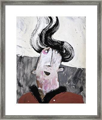 Mortalis No.22 Framed Print by Mark M  Mellon