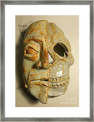 Mortality Framed Print by John Keasler
