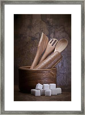 Mortar And Pestle Still Life II Framed Print by Tom Mc Nemar
