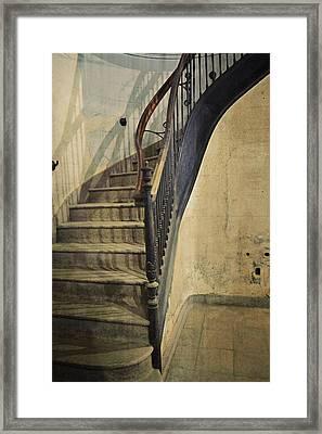 Morton Hotel Stairway Framed Print