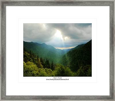 Morton's Overlook Framed Print by Katherine Tucker