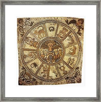 Mosaic, 6th Century Framed Print