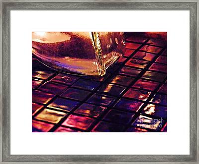Mosaic 9 Framed Print by Sarah Loft