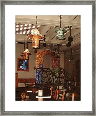Mosaic Doorway Framed Print by Charles Lucas