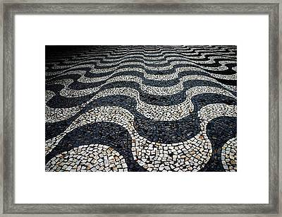 Framed Print featuring the photograph Mosaic Manaus by Henry Kowalski