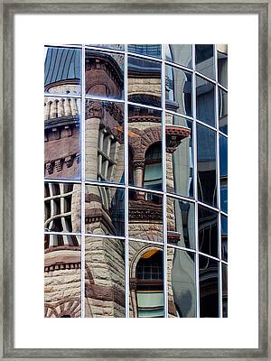 Mosaic Of Reflections Framed Print