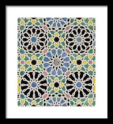 Textile Framed Prints