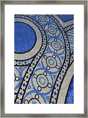 Mosaic Perspective 2 Framed Print by Tony Rubino
