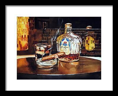 Scotch Whiskey Framed Prints